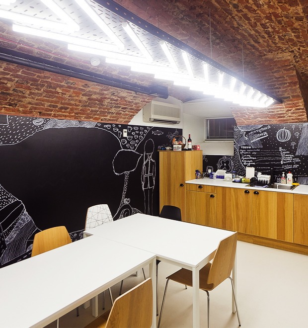 Интерьер недели (Петербург): Tristar Investment — Интерьер недели на The Village