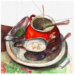 Пластилиновое кафе Didu — Клуб рисовальщиков на The Village