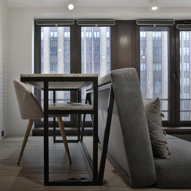 Студия в 29 квадратных метров с кроватью в подиуме — Квартира недели на The Village
