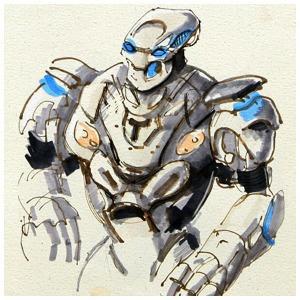 Выставка «Бал роботов» — Клуб рисовальщиков на The Village