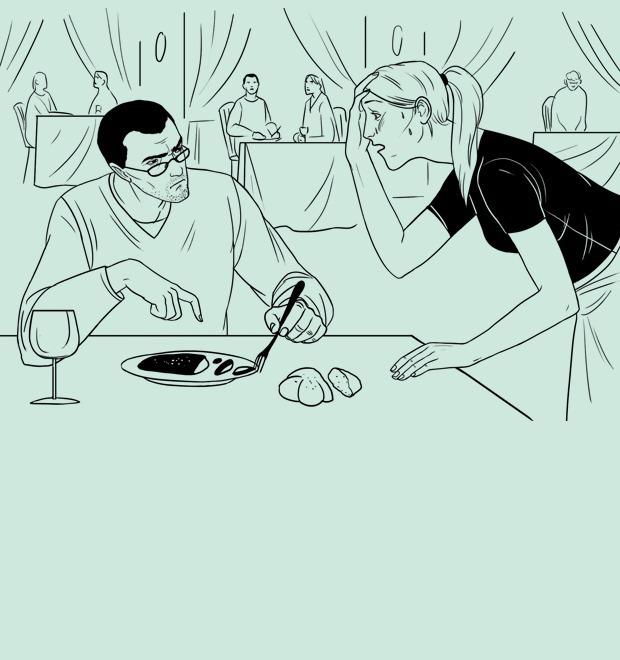 Как всё устроено: Тайный посетитель — Еда на The Village