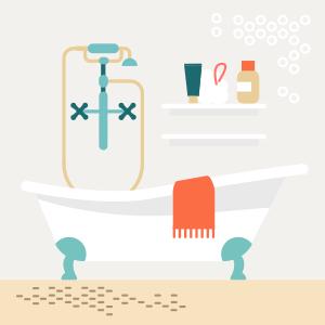 Как обустроить большую ванную комнату — Квартирный вопрос на The Village