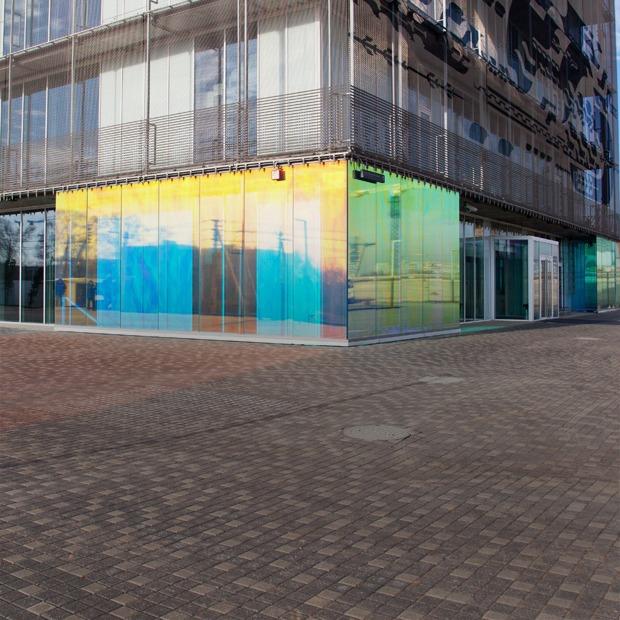 «Гиперкуб», первое здание инновационного центра «Сколково» — Интерьер недели на The Village