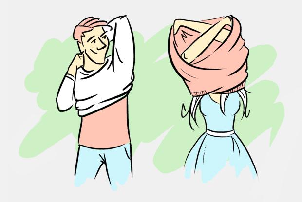 Почему мужчины и женщины по-разному раздеваются? — Есть вопрос на The Village