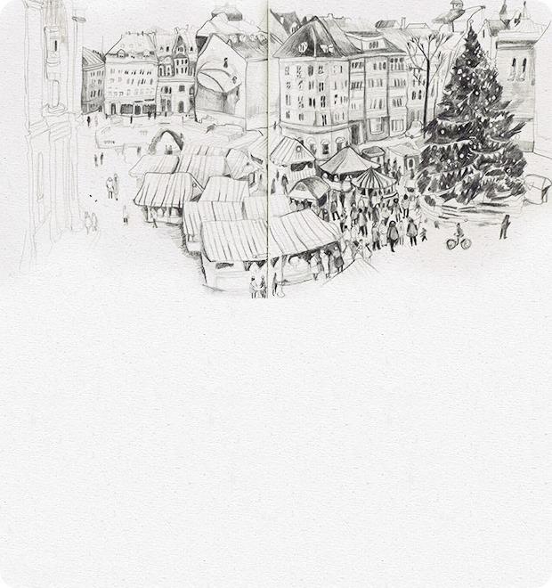 Клуб рисовальщиков: Новогодние каникулы — Клуб рисовальщиков на The Village