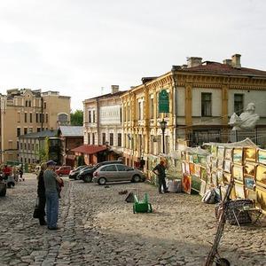 Андреевский спуск закрыли на ремонт — Ситуация на The Village