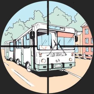 Есть вопрос: «Кто стреляет по автобусам и маршруткам?» — Есть вопрос на The Village