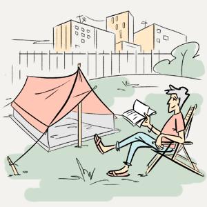 Можно ли в Москве жить в палатке? — Есть вопрос на The Village
