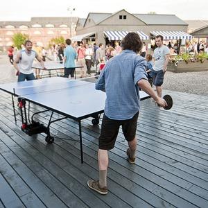 В «Новой Голландии» стартуют турниры по настольному теннису между национальными диаспорами — Велосипеды на The Village