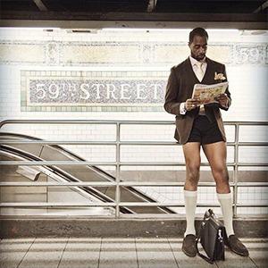 Флешмоб «В метро без штанов» в снимках Instagram — Weekend на The Village