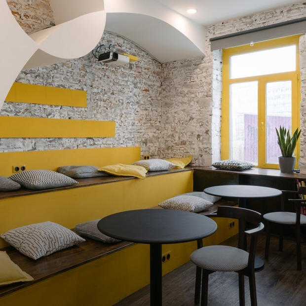 Baraban Hostel: Как устроен новый хостел на «Флаконе» — Интерьер недели на The Village