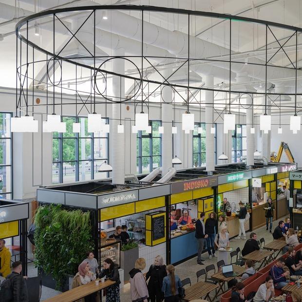 Первый пошел: Как устроен реконструированный Василеостровский рынок