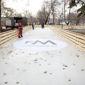 В парке Горького залили каток — Ситуация на The Village