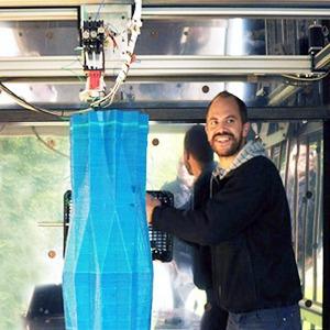 Дом печати: Как в Голландии строят здание с помощью 3D-принтера