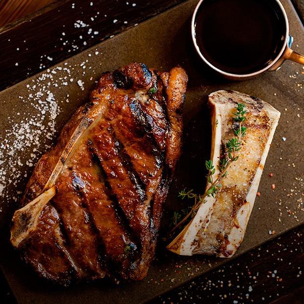 Ресторан «Гирлянда Steak Shop&Show» на Рубинштейна  — Новое место на The Village