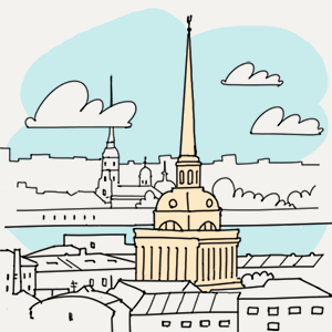 14 августа — Утро в Петербурге на The Village