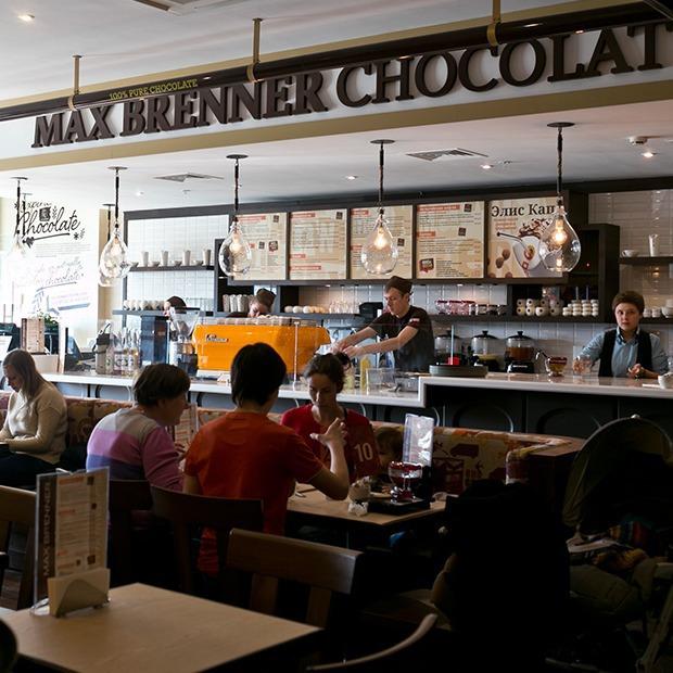 Шоколадный бар Max Brenner — Новое место на The Village