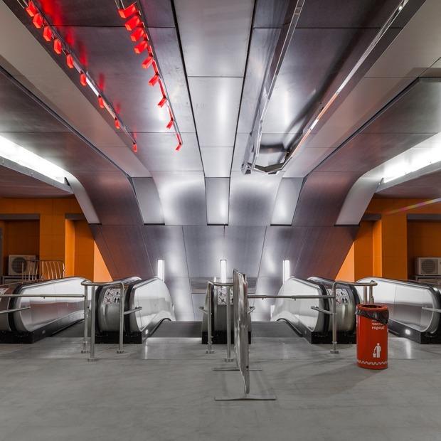 Как выглядят новые станции желтой ветки метро — Транспорт на The Village