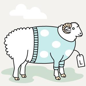 Инфографика: Из чего делают свитеры и футболки — Как это работает на The Village