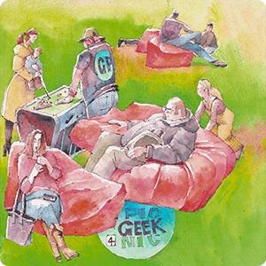 Клуб рисовальщиков: Geek Picnic — Клуб рисовальщиков на The Village