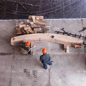 Как в Петербурге строят корабль петровского времени — Фоторепортаж на The Village