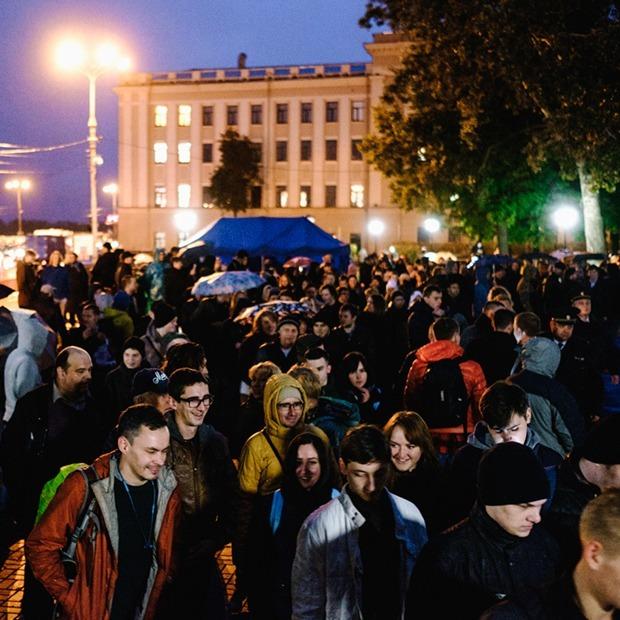 Нижегородский митинг Навального без Навального: как это было — Фоторепортаж на The Village