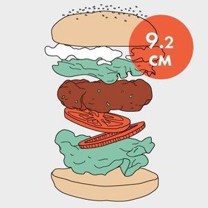 Между булок: Что внутри у самых больших московских бургеров, часть 2 — Рестораны на The Village