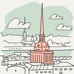14 ноября  — Утро в Петербурге на The Village