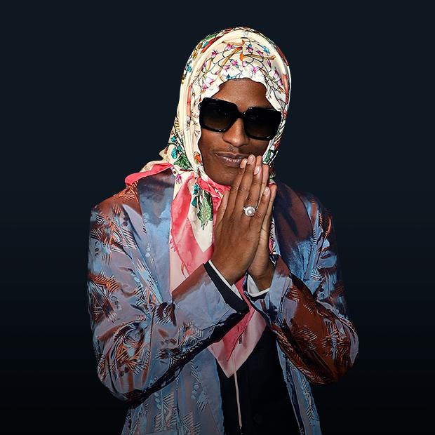 Бабушкин вариант: Зачем A$AP Rocky носит косынку и стоит ли вам ее купить — Тенденции на The Village