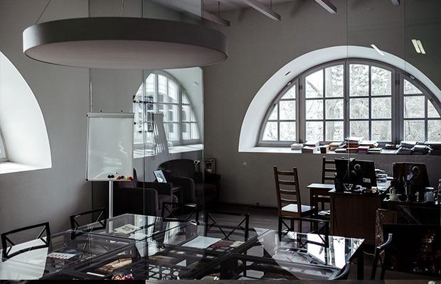 Офис Центра современного искусства в Арсенале