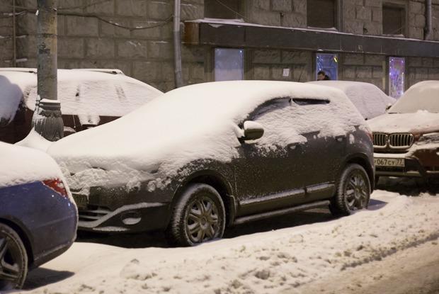 Новая зона платной парковки: до и после — Фоторепортаж на The Village