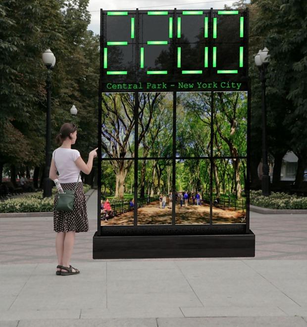 Городские часы: Версия художника Максима Ксуты — М.Город на The Village