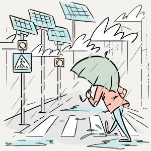 Как солнечные батареи работают в городах, где нет солнца?  — Есть вопрос на The Village