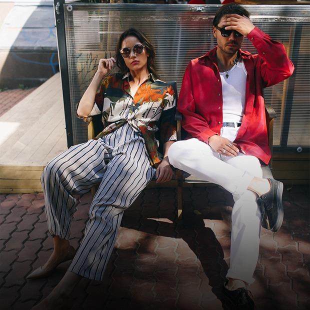 Рестораторы Сергей Уханов и Олеся Иськова — о любимой одежде — Внешний вид на The Village