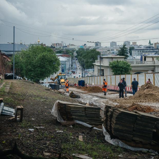 Любовь к самокопанию: Масштабные ремонтные работы в центре Москвы