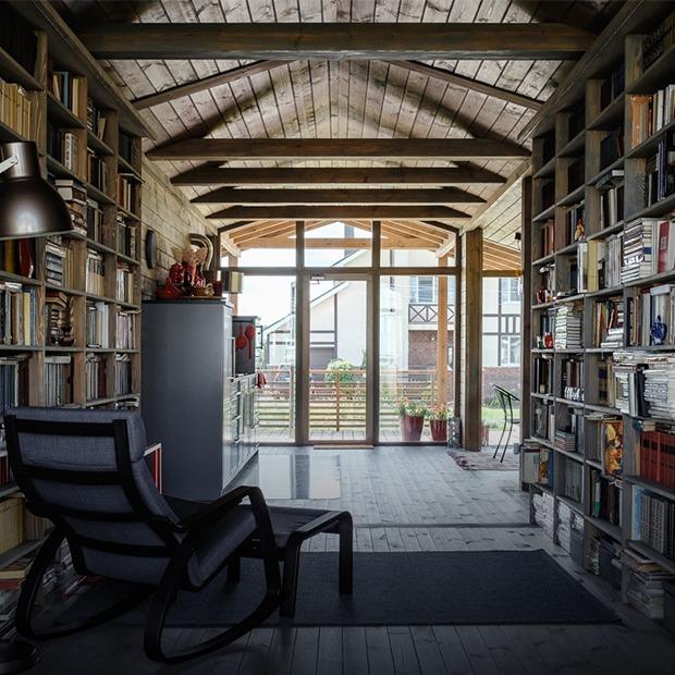 ДубльДом в Богородском районе с семейной библиотекой и красным пандусом — Квартира недели на The Village