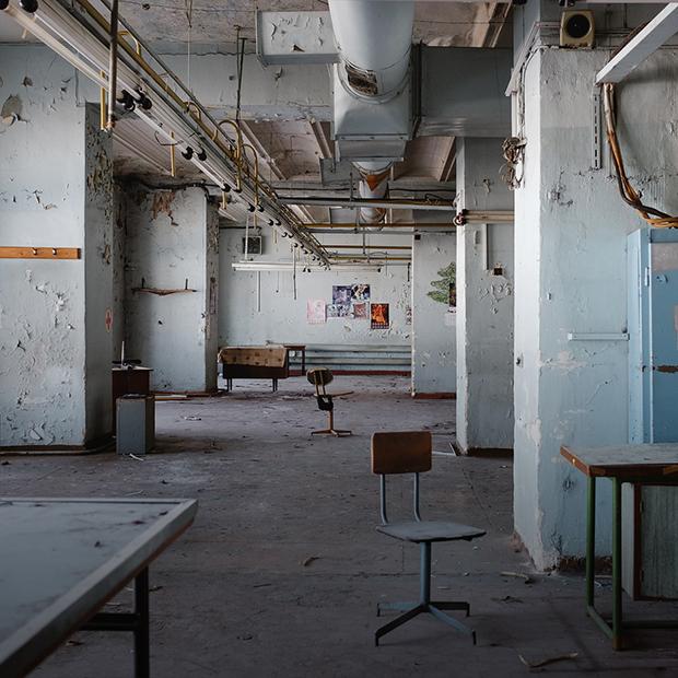 Бывшая швейная фабрика «Маяк» на Нижневолжской — Фоторепортаж на The Village