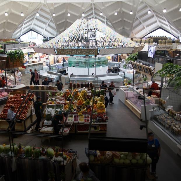 Что покупать на обновленном Даниловском: От огурцов до мяса бобра