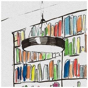 Библиотека им. Достоевского  — Клуб рисовальщиков на The Village