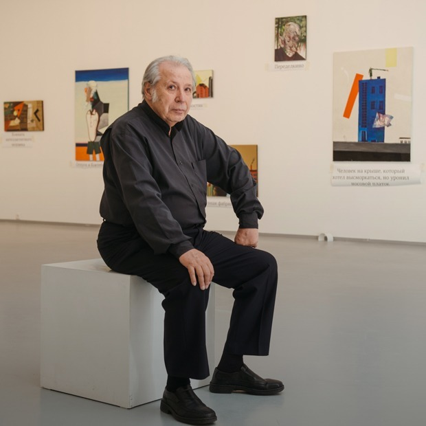 Виктор Пивоваров — о политик-арте, снах и смерти — Интервью на The Village