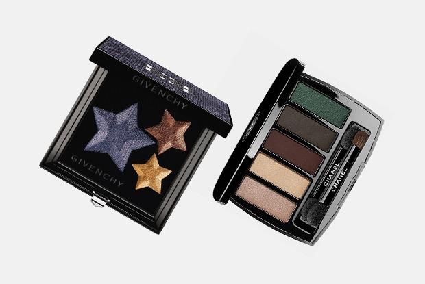 Золото, пурпур, хаки и синий: 5 новогодних коллекций макияжа — Косметика на The Village
