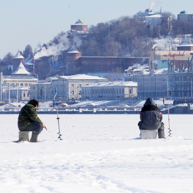 Городская зимняя рыбалка на распутье великих русских рек — Люди в городе на The Village