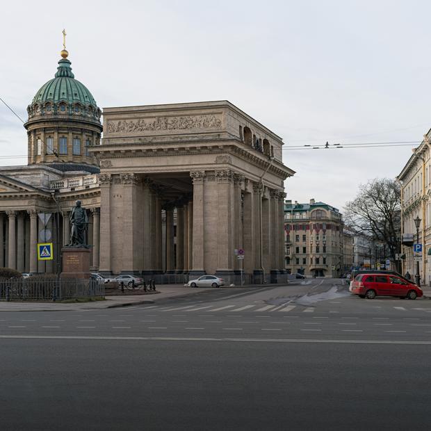 Постапокалипсис: Как выглядит центр Петербурга прямо сейчас  — Фоторепортаж на The Village