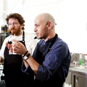 Omnivore Food Festival: Илья Шалев и Алексей Зимин готовят три блюда из редиса и черемши  — Рецепты шефов на The Village