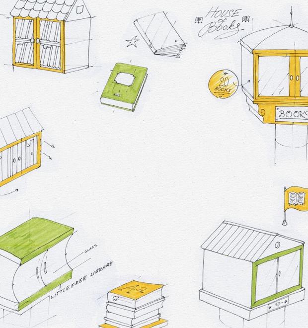 Идеи для города: Публичные библиотеки-скворечники — Иностранный опыт на The Village