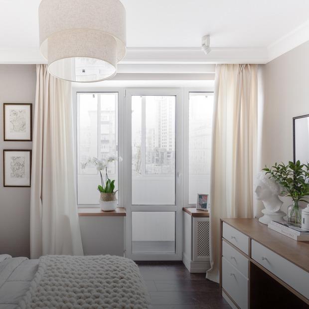 Светлый интерьер в американском стиле на «Павелецкой» — Квартира недели на The Village