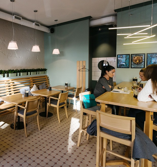 Новое место: Кафе-бар «Бюро» — Рестораны на The Village