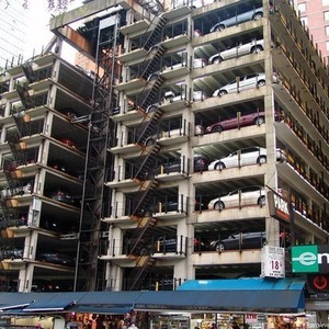 В Москве построят более 150 многоуровневых паркингов