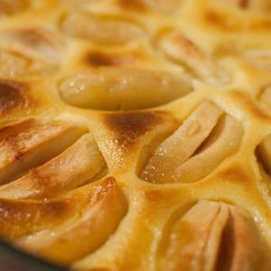 Яблочный пирог с заварным кремом — Рецепты читателей на The Village