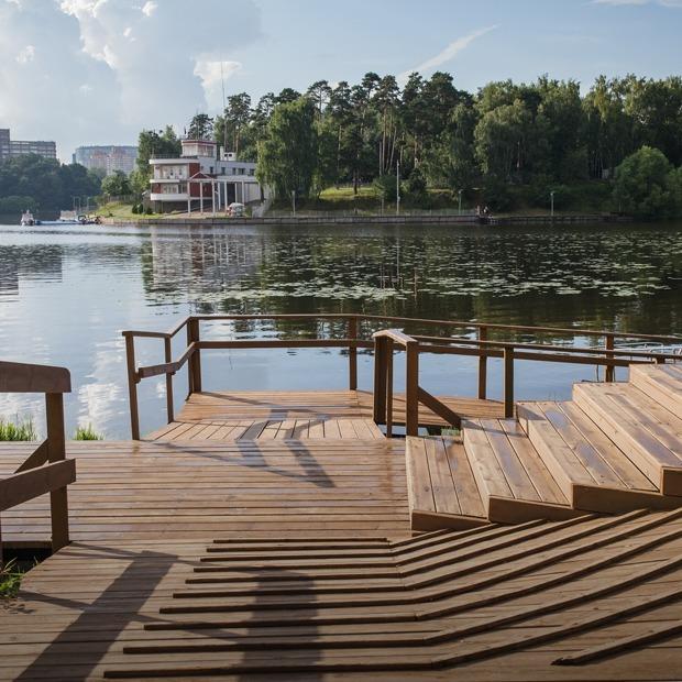 Как выглядят новые парки Москвы — Фоторепортаж на The Village
